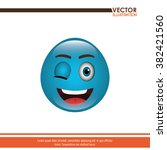 funny emoticon design  | Shutterstock .eps vector #382421560