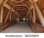 Wooden Beams Inside Of A...