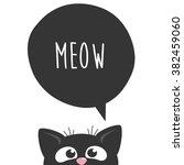 cat illustration t shirt... | Shutterstock .eps vector #382459060