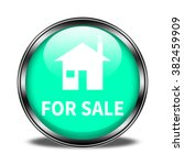 for sale button isolated   Shutterstock . vector #382459909
