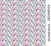 modern geometric pattern.... | Shutterstock .eps vector #382468354