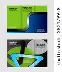 vector brochure layout design... | Shutterstock .eps vector #382479958