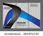 brochure folder leaflet... | Shutterstock .eps vector #382491154