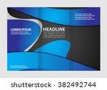 vector modern tri fold brochure ...   Shutterstock .eps vector #382492744