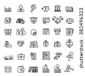 money  finance  payments icons... | Shutterstock .eps vector #382496323