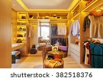 design and clothes in luxury... | Shutterstock . vector #382518376