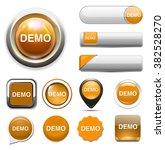 demo  button | Shutterstock .eps vector #382528270
