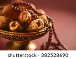 religious food and objects.... | Shutterstock . vector #382528690