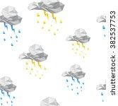 seamless texture clouds... | Shutterstock .eps vector #382537753