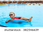 little boy having fun in... | Shutterstock . vector #382546639