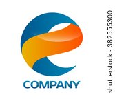 e and s company linked letter... | Shutterstock .eps vector #382555300