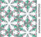 seamless pattern illustration | Shutterstock . vector #382559263