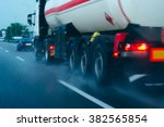 tanker on the move tanker... | Shutterstock . vector #382565854