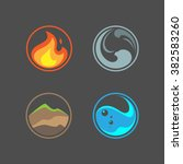 four elements | Shutterstock .eps vector #382583260