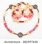 Pink And Yellow Necklace From...
