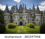 Castle Of Vigny. France   Marc...