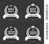vector badge collection. best... | Shutterstock .eps vector #382600114