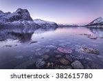 bergsbotn  senja island  norway | Shutterstock . vector #382615780