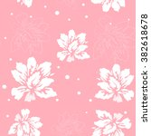 flower background pink | Shutterstock .eps vector #382618678