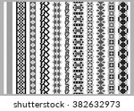 asian or american seamless ... | Shutterstock .eps vector #382632973