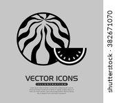 delicious fruit design  | Shutterstock .eps vector #382671070