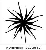 decorative spiral set scroll...   Shutterstock .eps vector #38268562