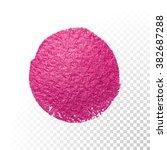 vector pink watercolor brush...   Shutterstock .eps vector #382687288