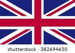 united kingdom flag   Shutterstock .eps vector #382694650