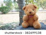Brown Teddy Bear  Sitting On A...