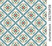 vector seamless pattern.... | Shutterstock .eps vector #382706938