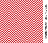 red with white seamless chevron ... | Shutterstock .eps vector #382717936