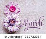 8 March Symbol. Figure Of ...