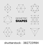 vector abstract regular... | Shutterstock .eps vector #382723984