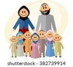 vector illustration of a big... | Shutterstock .eps vector #382739914