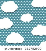 clouds pattern | Shutterstock .eps vector #382752970