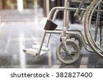 Empty Wheelchair Parked In...