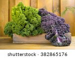 Freshly Harvested Green And...