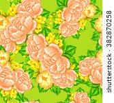 abstract elegance seamless... | Shutterstock .eps vector #382870258