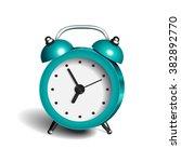 Alarm Clock 3d Vector Object...