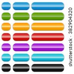 set of colorful banner or...   Shutterstock . vector #382904320