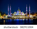 crystal mosque in kuala...   Shutterstock . vector #382911004
