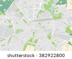 vector city map of eindhoven ... | Shutterstock .eps vector #382922800