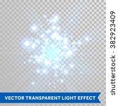 vector firework blaze sparks... | Shutterstock .eps vector #382923409