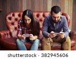 concept photo of smartphone... | Shutterstock . vector #382945606