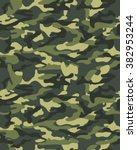 camouflage pattern  seamless... | Shutterstock .eps vector #382953244