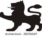 lion | Shutterstock .eps vector #38296069