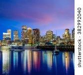 Boston Downtown Skyline...