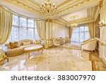 luxurious interior | Shutterstock . vector #383007970