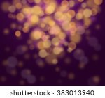 festive elegant abstract... | Shutterstock . vector #383013940
