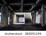 design element. industrial... | Shutterstock . vector #383051194